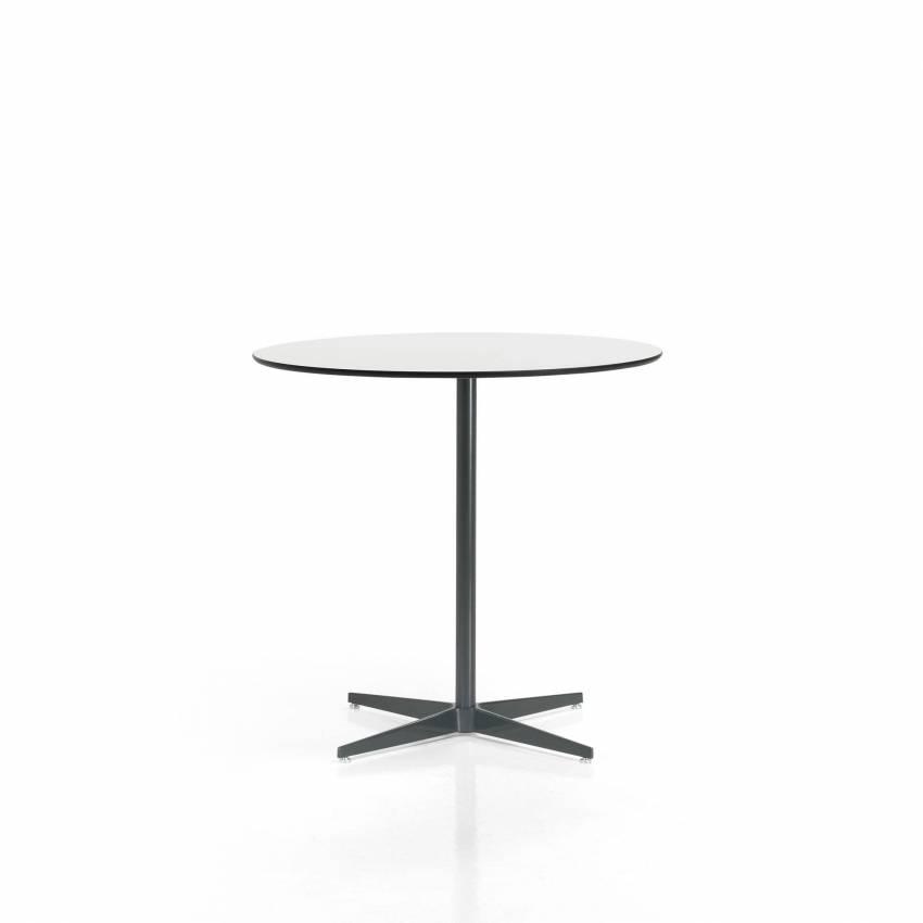 Inclass / Table de restauration MALIBU / H 38 cm / Blanc et gris