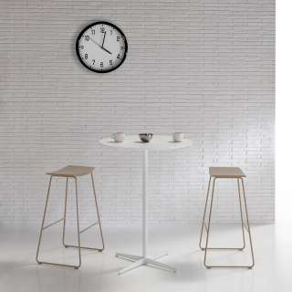 Table haute MALIBU / H 103 cm / Blanc