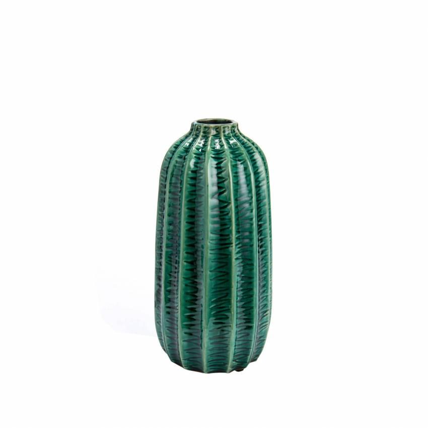 Vase BULLE / H.28 cm / Vert