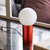 Lampe de table TURN ON / H. 19,5 cm / Orange