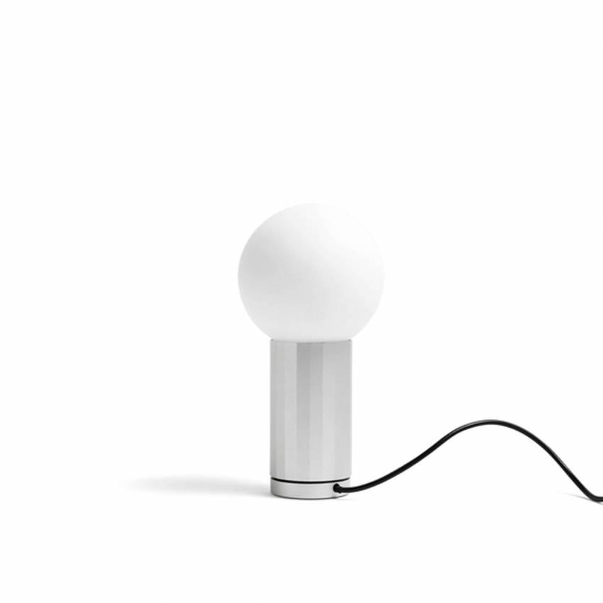 Lampe de table TURN ON / H. 19,5 cm / Aluminium