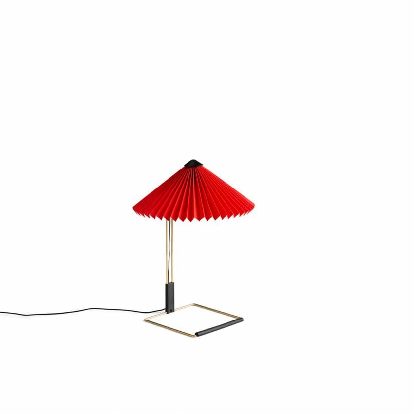 Lampe de table MATIN / H. 38 ou 52 cm / Rouge