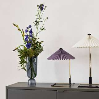 Lampe de table MATIN / H. 38 ou 52 cm / Lavande