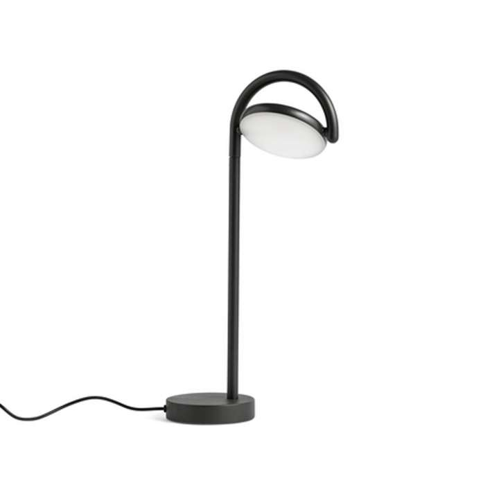 Lampe de table MARSELIS / H. 38 cm / Noir