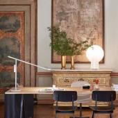 Lampe de bureau FIFTY-FIFTY / H. 60 cm / Gris