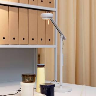 Lampe de table FIFTY-FIFTY MINI / H. 45 cm / Gris