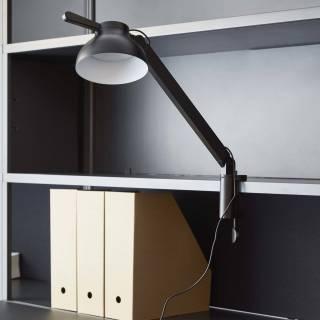 Lampe de bureau PC / H. 62,7 cm / Noir