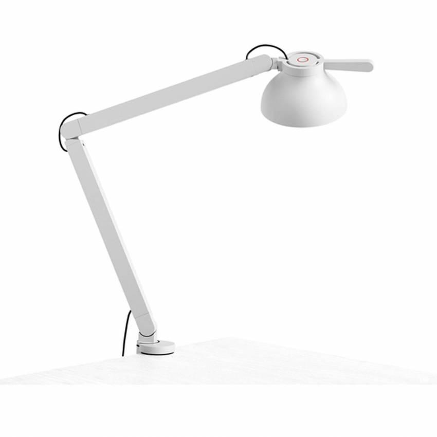 Lampe de bureau PC / H. 60,5 cm / Gris