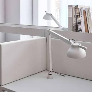 Lampe de bureau PC / H. 42,5 cm / Gris