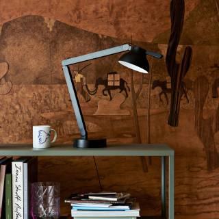Lampe de bureau PC / H. 42 cm / Noir