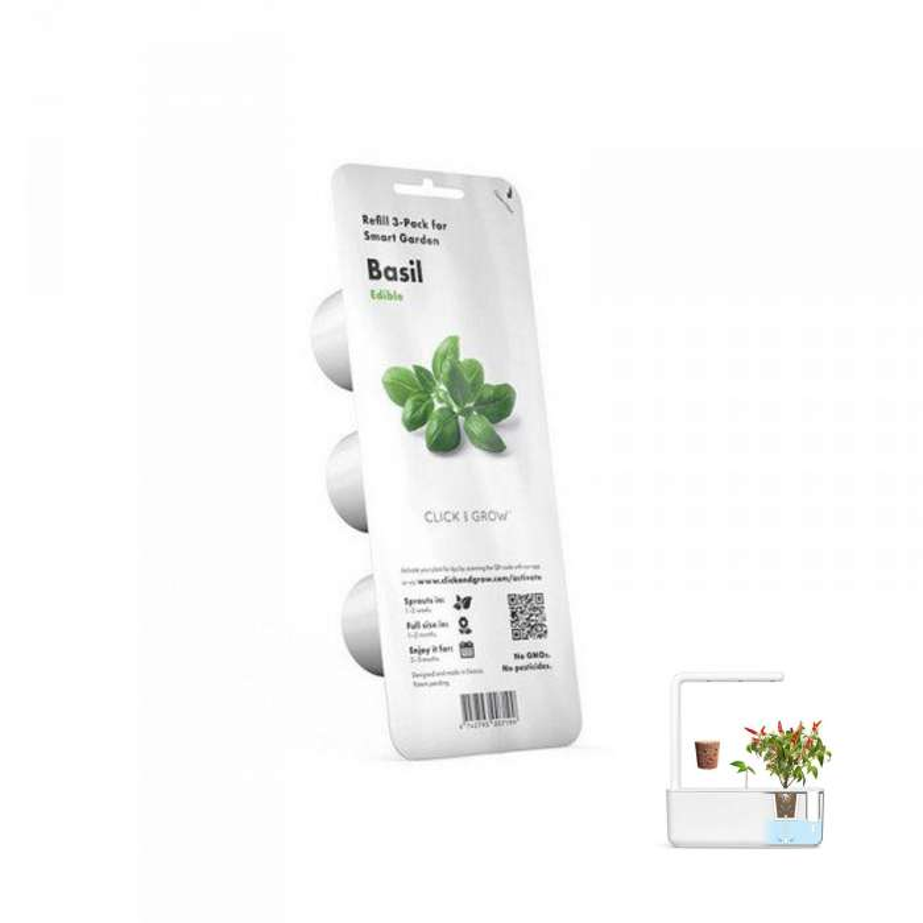 3 capsules Basilic / Emsa pour GARDEN