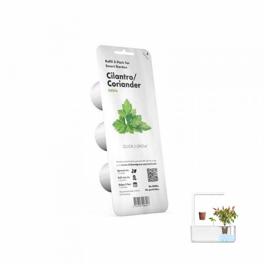 3 capsules CORIANDRE / Emsa pour GARDEN