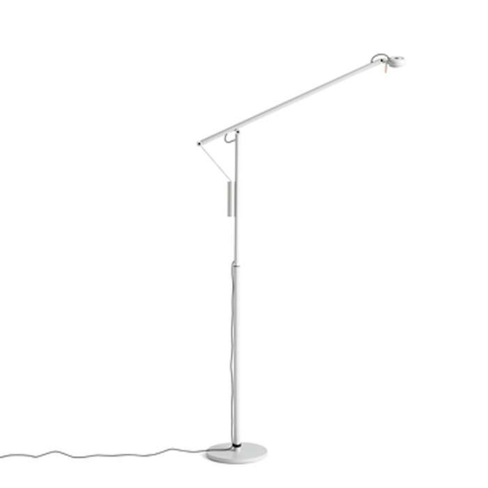 Lampadaire FIFTY-FIFTY / H. 135 cm / Gris