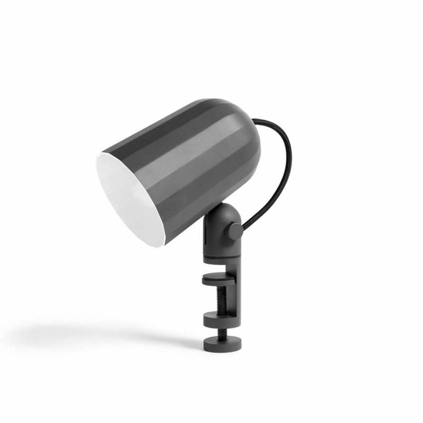 Lampe à pince NOC CLIP / H. 22 cm / Gris Foncé