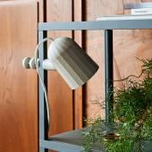 Lampe à pince NOC CLIP / H. 22 cm / Blanc Cassé
