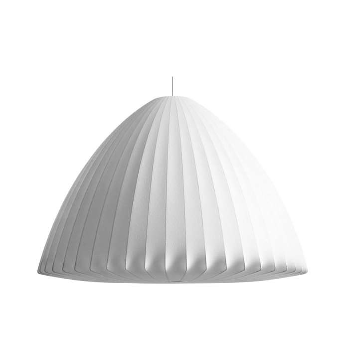 Grande suspension BELL BUBBLE Ø 1,06 m / Blanc / Hay