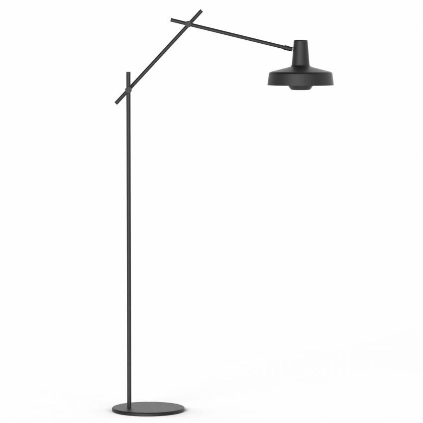 Lampadaire AR-F / H. 176 cm / Noir ou Blanc