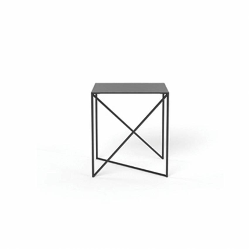 Table d'appoint DOT / L. 40 ou 70 cm / Noir