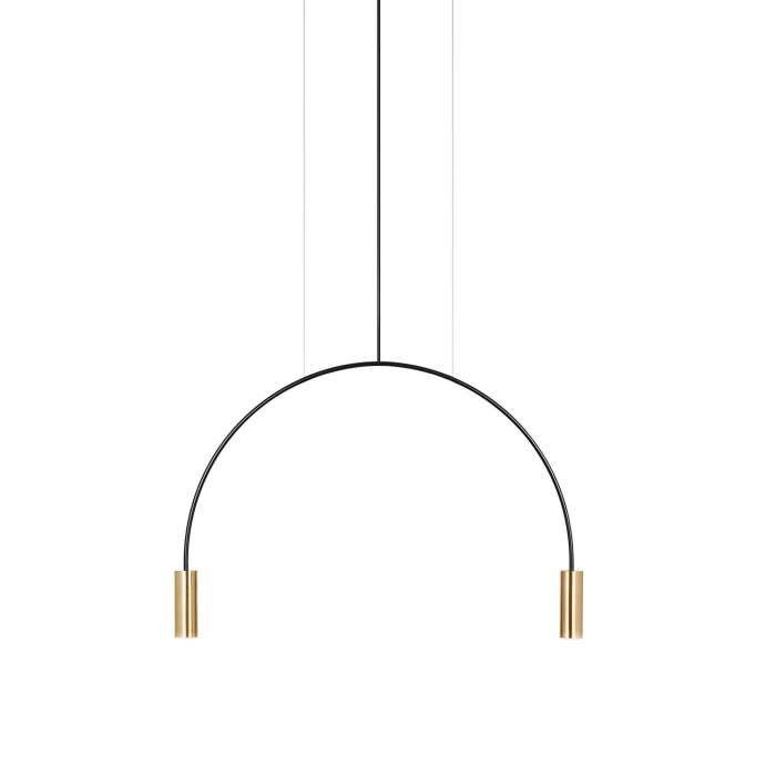 Suspension simple VOLTA / Gold / Estiluz