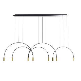 Suspension VOLTA / H. 242 cm / Gold