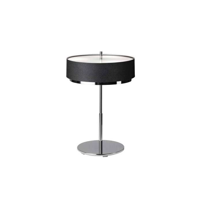 Lampe de table IRIS / H. 61 cm / Noir et Chrome