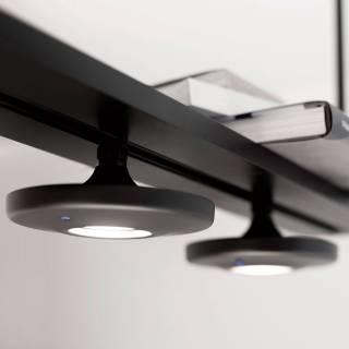 Estiluz / Suspension modulable BUTTON 3 lampes led T-3305