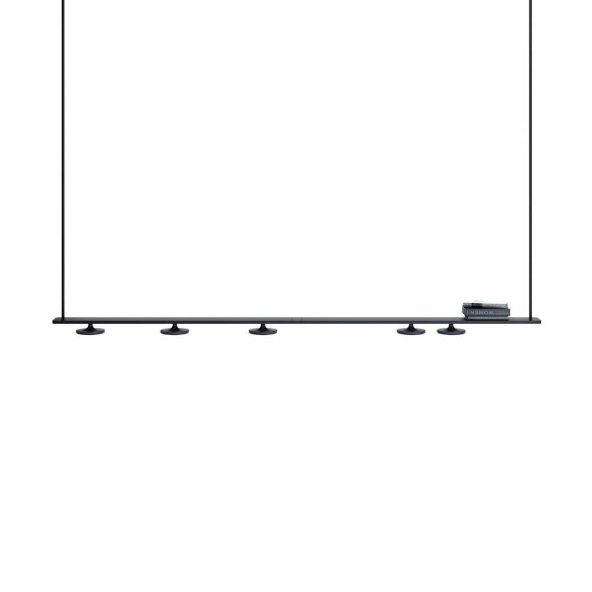Estiluz / Suspension rail BUTTON 5 spots led T-3307