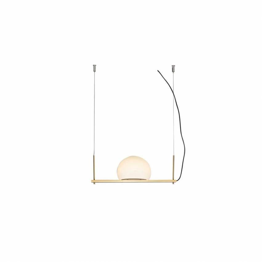 Suspension CIRC / L. 40 cm / Gold