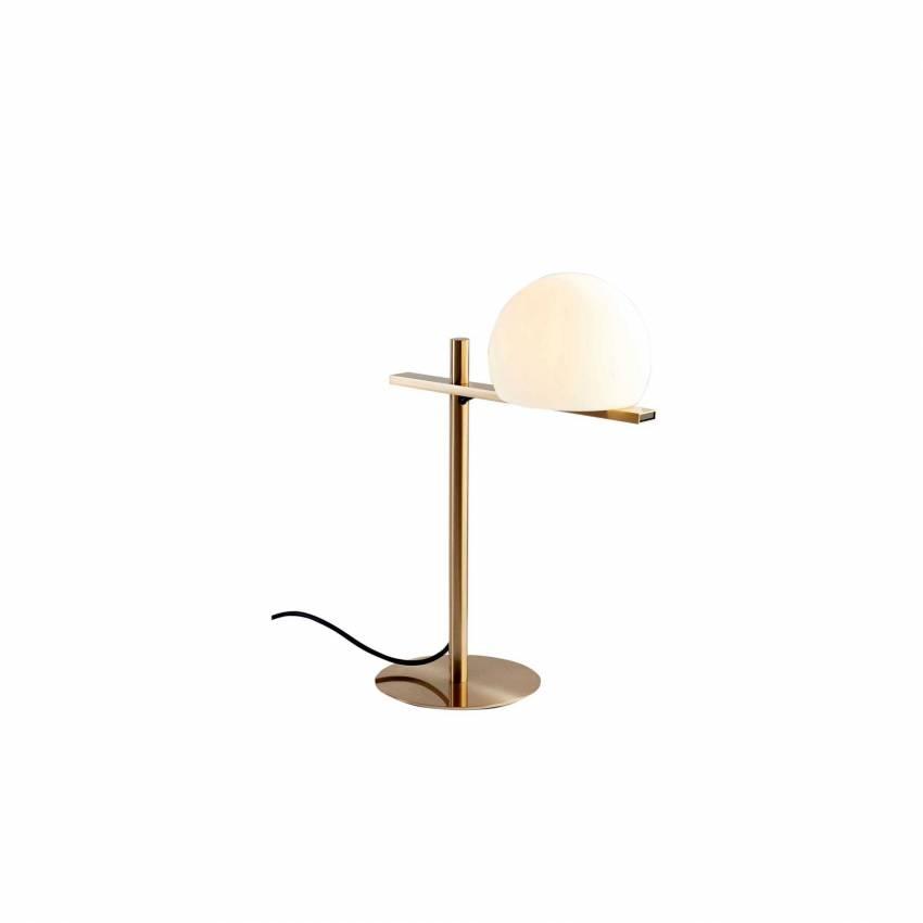 Lampe de table CIRC / H. 43,8 cm / Gold / Verre