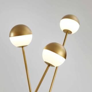 Lampadaire ALFI / L. 1,20 m / Gold