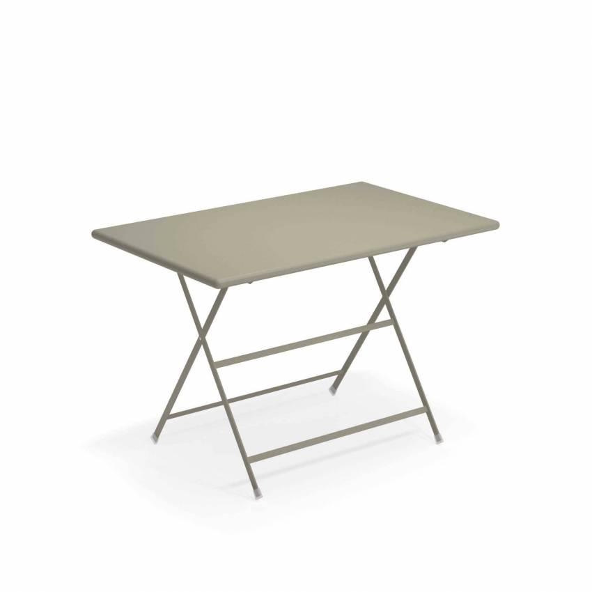 Table de jardin ARC EN CIEL / Gris-Vert