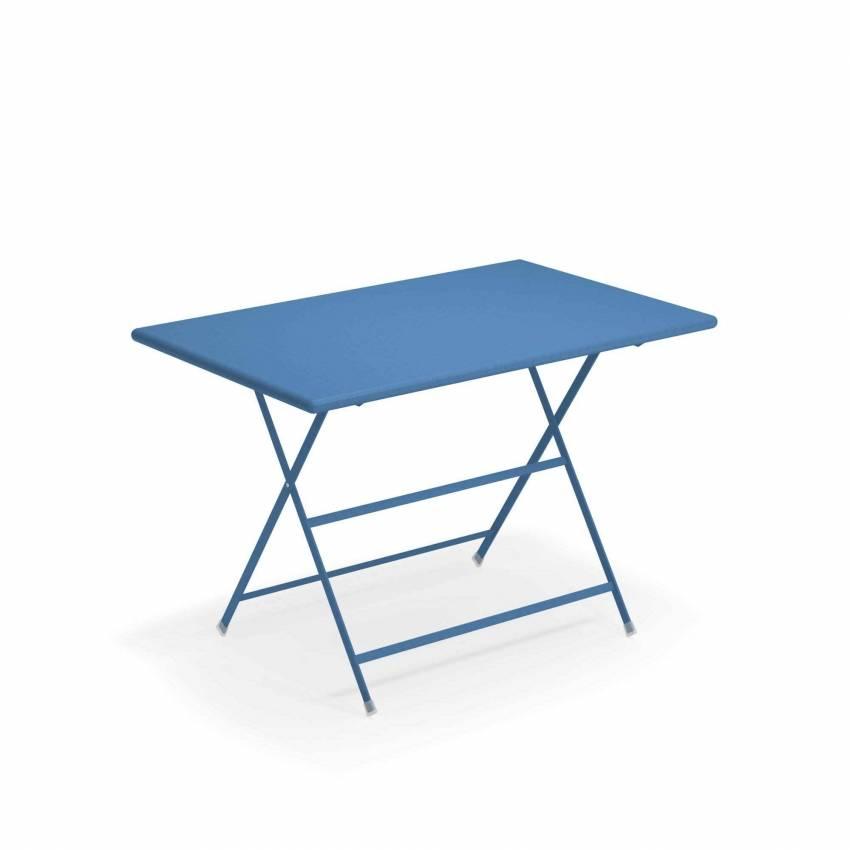 Table de jardin ARC EN CIEL / Bleu