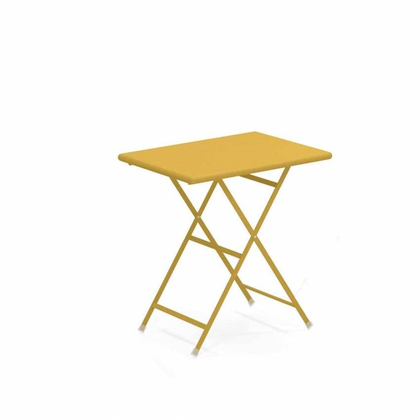Table outdoor ARC EN CIEL / Jaune