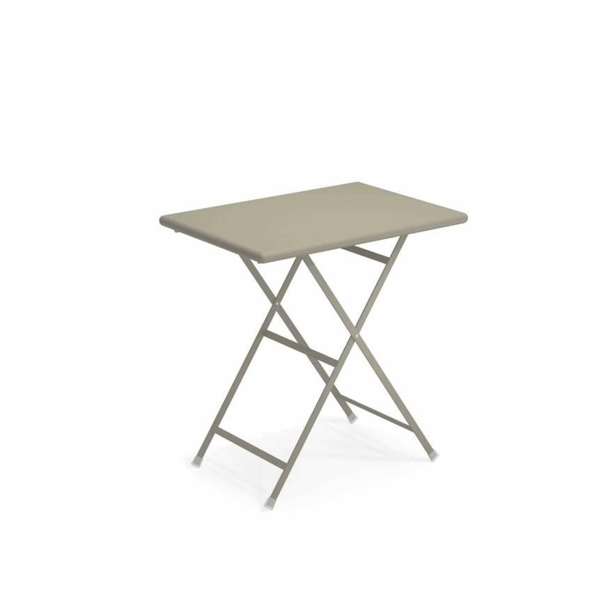 Table outdoor ARC EN CIEL / Gris-Vert