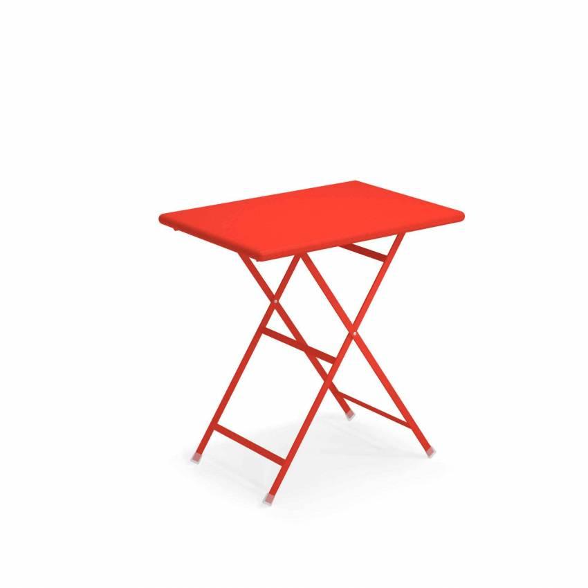 Table outdoor ARC EN CIEL / Rouge