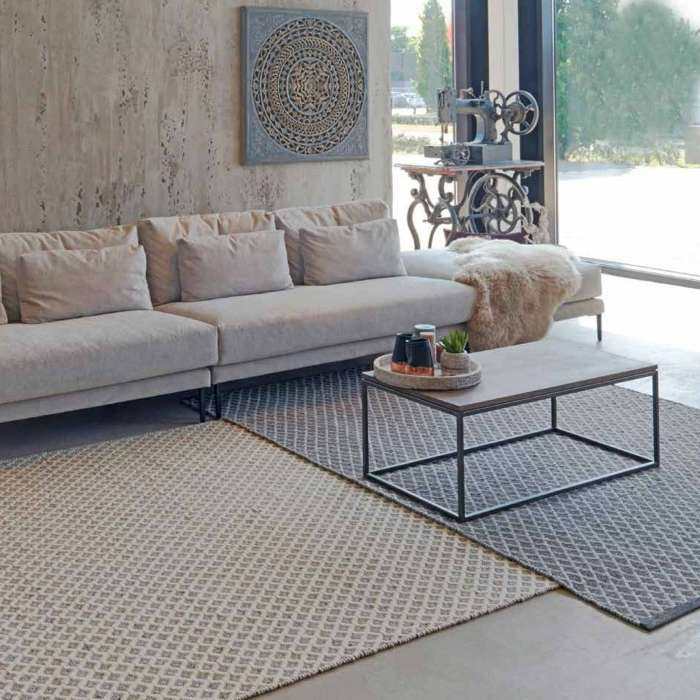 Idaho / Tapis réversible COVENTRY 100% laine