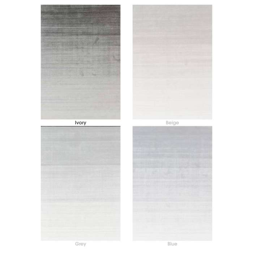 Idaho / Tapis SHADOW laine et viscose / 4 coloris / 3 dimensions