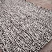 Tapis TWEED laine et viscose / 3 coloris / 2 dimensions