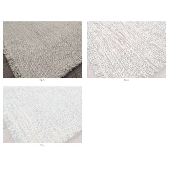 Idaho / Tapis TWEED laine et viscose / 3 coloris / 2 dimensions
