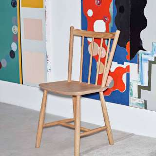Chaise J41 / H. 82,5 cm / Chêne Mat