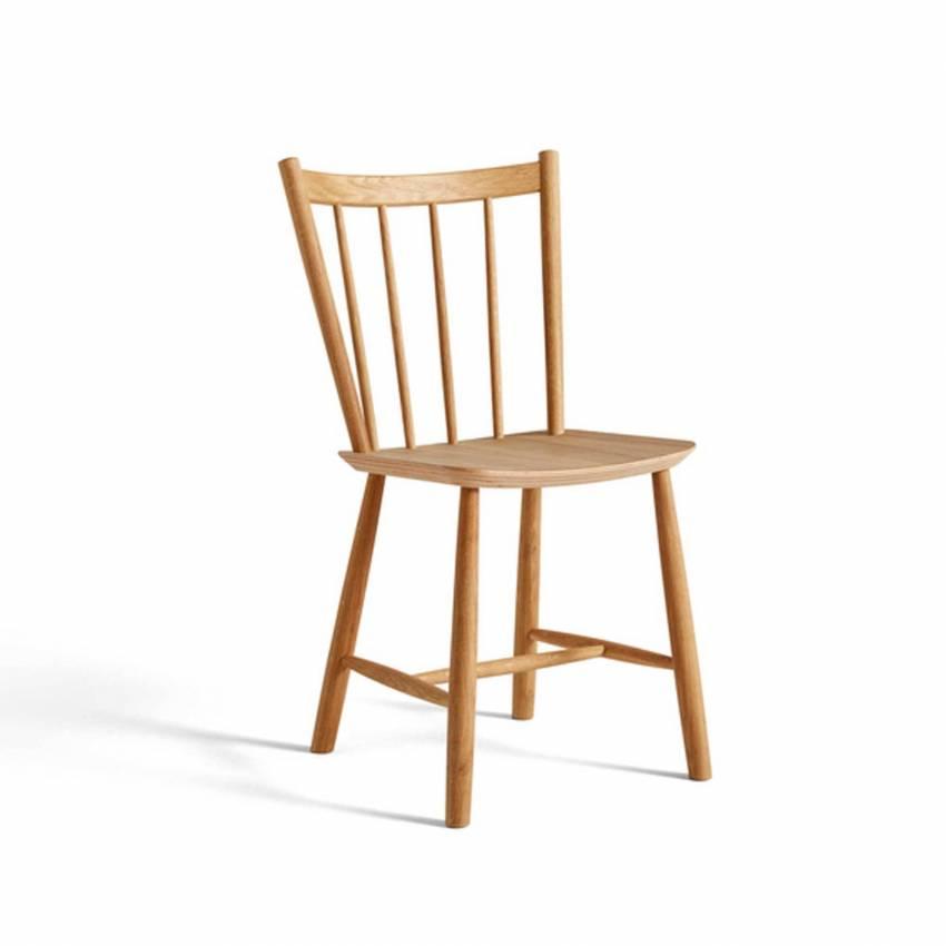 Chaise J41 / H. 82,5 cm / Chêne Huilé