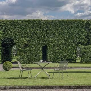 Lot de 4 fauteuils empilables outdoor RONDA / H. 82 cm / 4 coloris