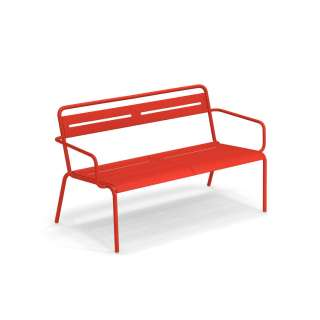 Banc outdoor STAR / L. 1,29 m / 7 coloris