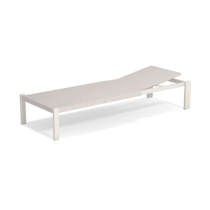 Chaise longue outdoor SHINE / P. 2,09 m / 4 coloris
