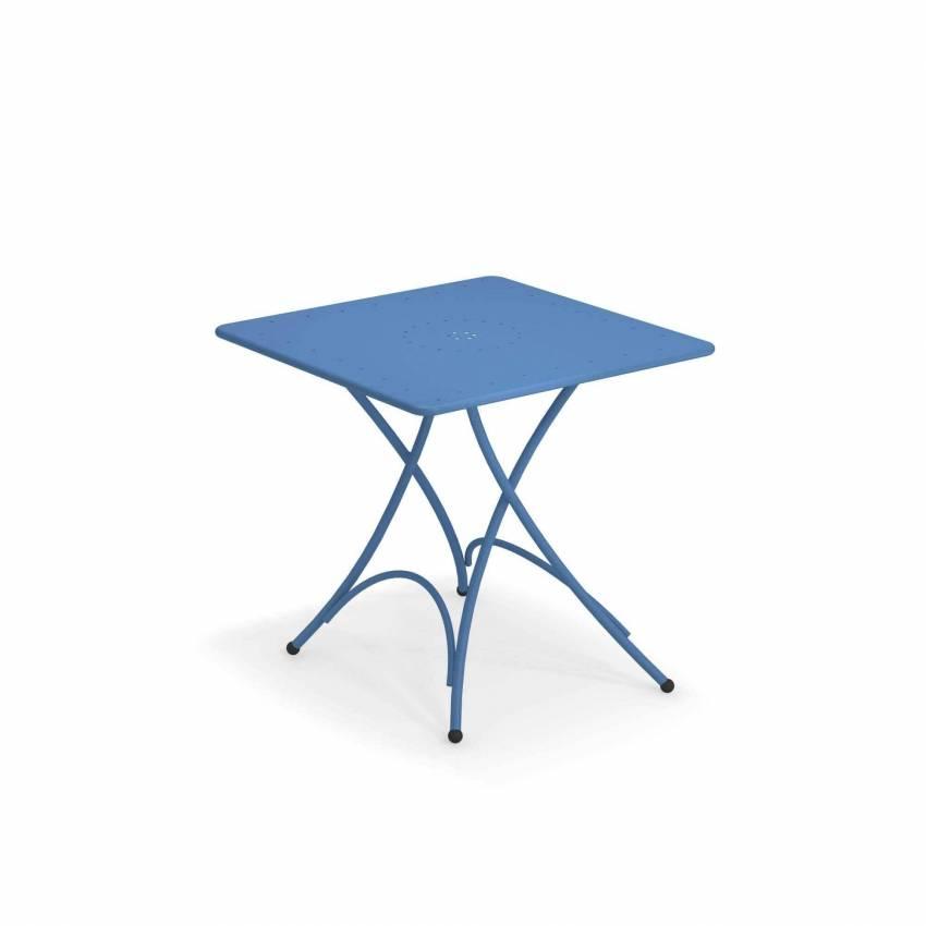 Table carrée outdoor PIGALLE / 2 dimensions / 7 coloris