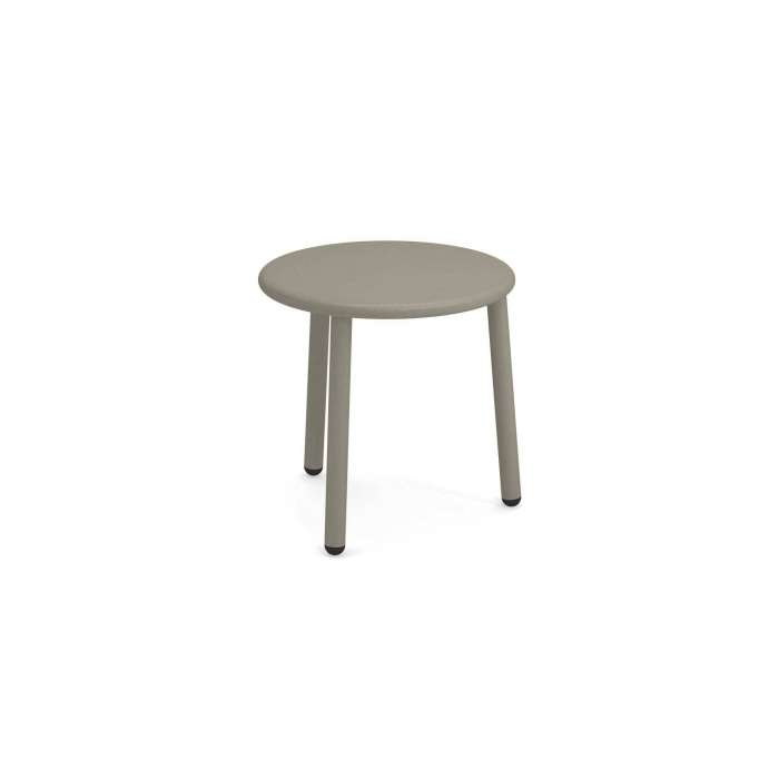 Table ronde de jardin YARD / H. 50 cm / 4 coloris