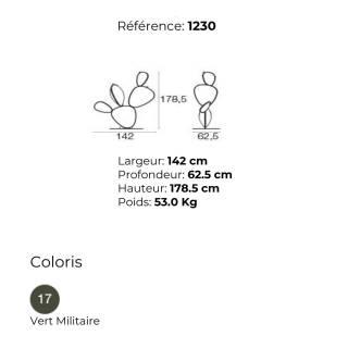 Objet décoratif outdoor FICUS / H. 1,78 m / Modèle personnalisable
