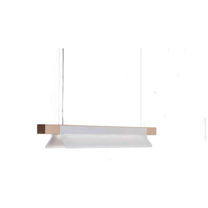Suspension BRIDGET / L. 1,6 m / Blanc