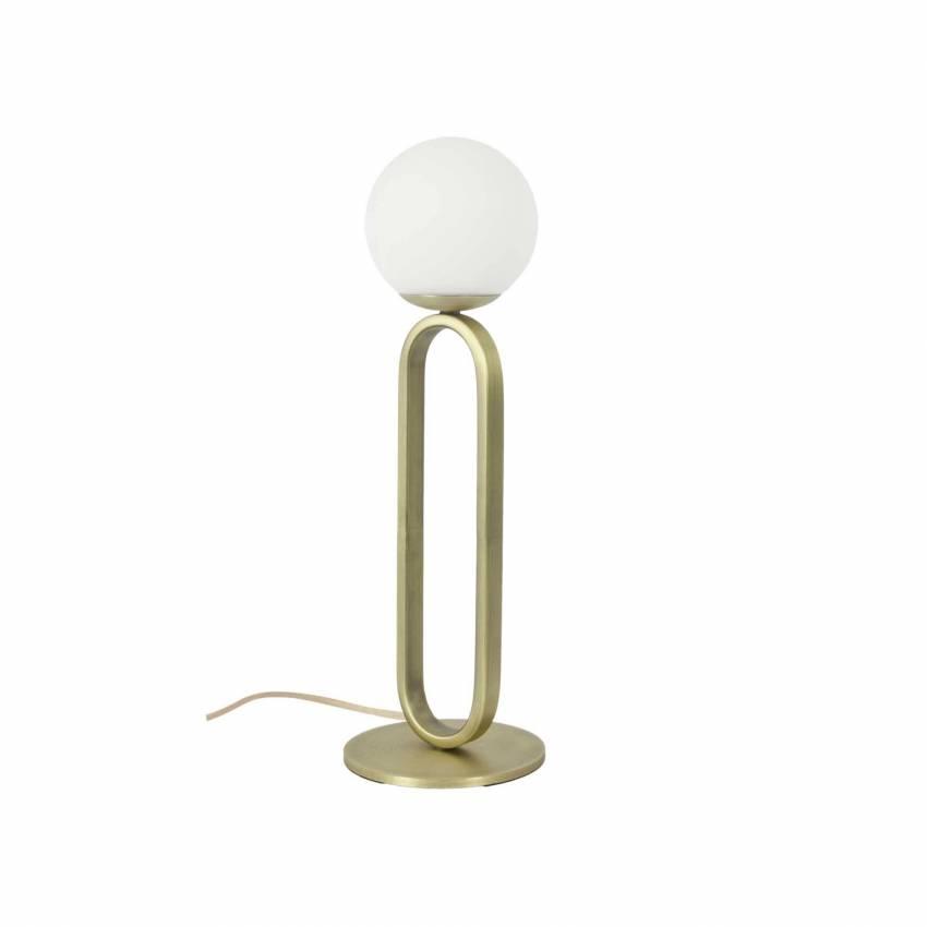 Lampe de table CIME / Ø 12 ou 20 cm / Or