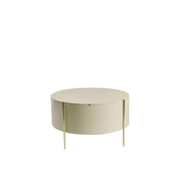 Table basse EMBORE / H. 80 cm / Beige